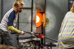 Special offer - glass blowing in Harrachov