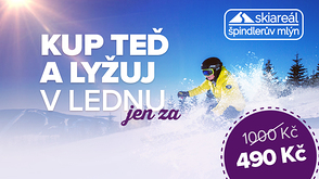 SPINDLERUV MLYN in Januar! Buy now and ski in January for just 490, - CZK! Accommodation with a 25% discount!