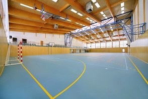 Tennis courts - sports-centre
