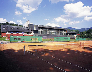 Tennis courts TJ Spartak