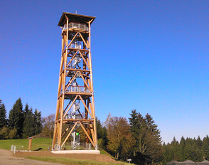 Viewing Tower Eliska at Stachelberg Fort